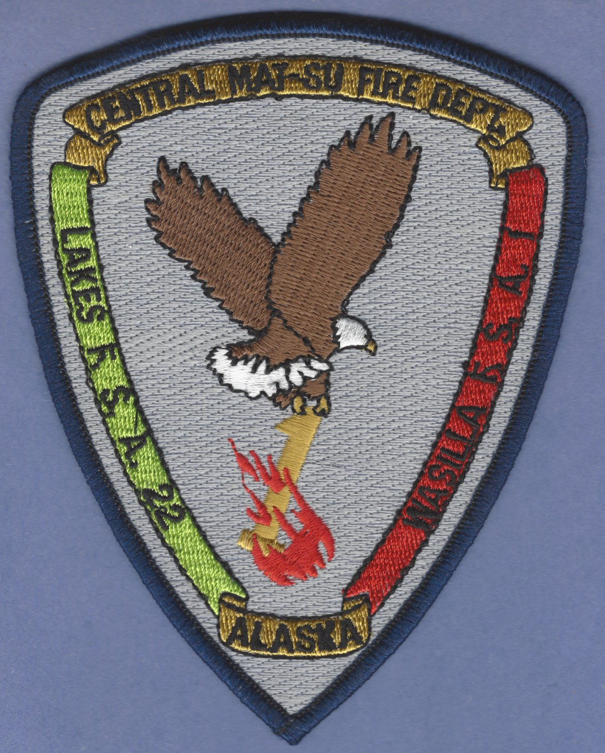CENTRAL MAT-SU ALASKA FIRE RESCUE PATCH