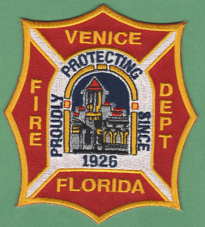 VENICE FLORIDA FIRE RESCUE PATCH