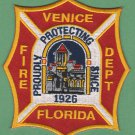 VENICE FLORIDA FIRE RESCUE PATCH