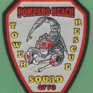 POMPANO BEACH FLORIDA FIRE RESCUE PATCH