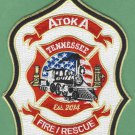 ATOKA TENNESSEE FIRE RESCUE PATCH