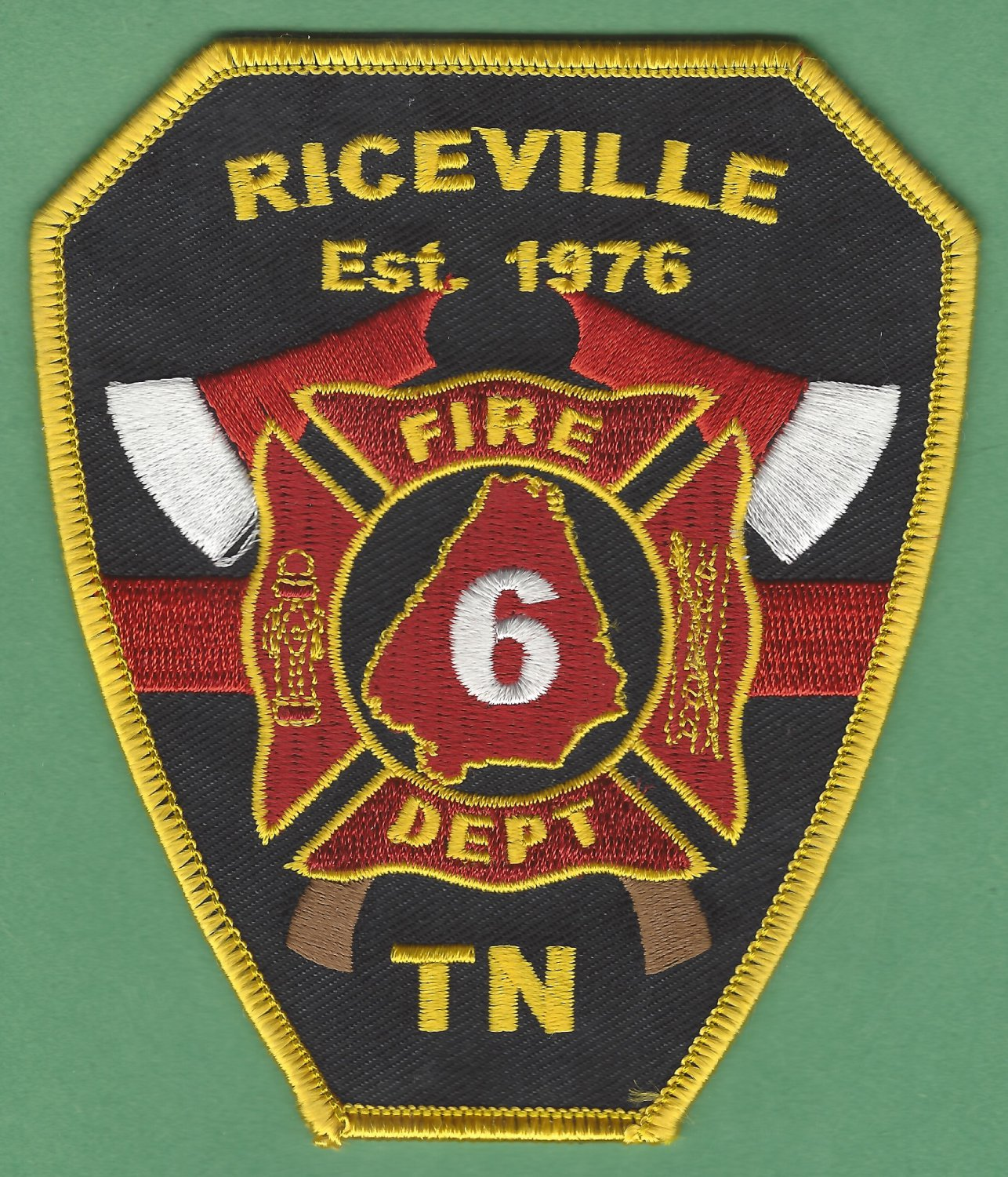 RICEVILLE TENNESSEE FIRE RESCUE PATCH