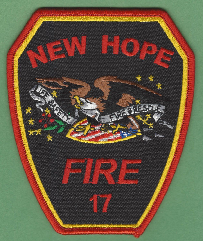 NEW HOPE NORTH CAROLINA FIRE RESCUE PATCH