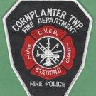 CORN PLANTER TOWNSHIP PENNSYLVANIA FIRE RESCUE PATCH