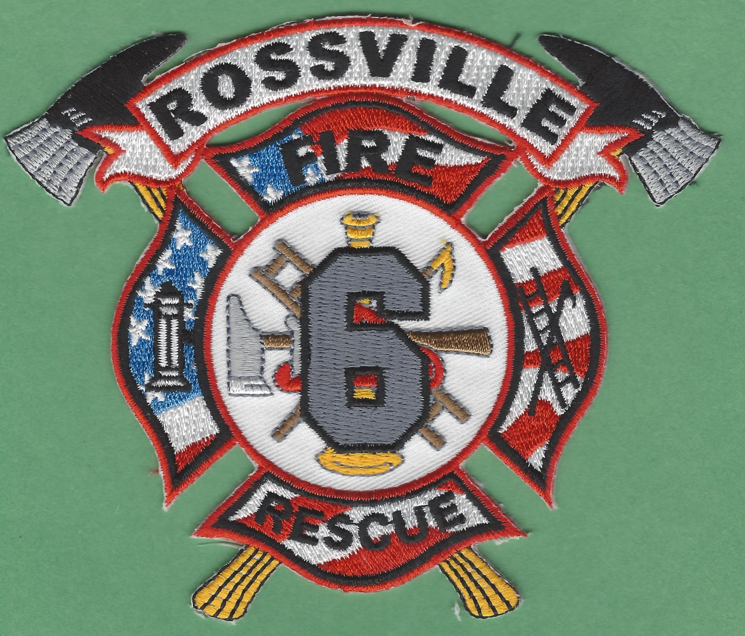 ROSSVILLE TENNESSEE FIRE RESCUE PATCH
