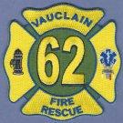 VULCLAIN PENNSYLVANIA FIRE RESCUE PATCH