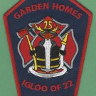 GARDEN HOMES ILLINOIS FIRE RESCUE PATCH