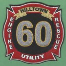 HILLTOWN TOWNSHIP PENNSYLVANIA FIRE RESCUE PATCH