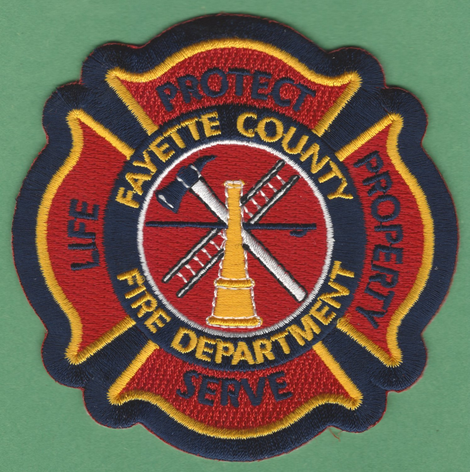 FAYETTE COUNTY TENNESSEE FIRE RESCUE PATCH