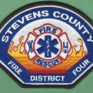 SEVENS COUNTY DISTRICT 4 WASHINGTON FIRE RESCUE PATCH
