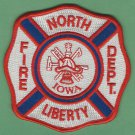 NORTH LIBERTY IOWA FIRE RESCUE PATCH