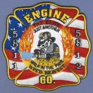 WASHINGTON PARK ILLINOIS FIRE RESCUE PATCH