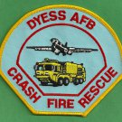 DYESS AIR FORCE BASE TEXAS CRASH FIRE RESCUE PATCH