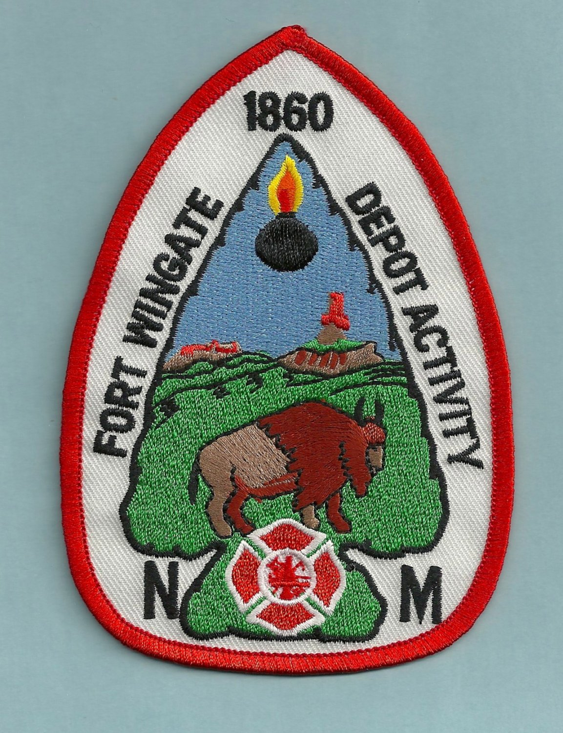 FORT WINGATE ARMY BASE NEW MEXICO FIRE RESCUE PATCH