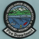 KEYPORT WASHINGTON NAVAL UNDERSEA WARFARE ENGINEERING STATION FIRE PATCH