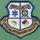 New York EMS Special Operations Division Fire Patch