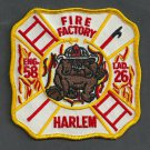 Harlem New York Engine 58 Ladder 26 Fire Company Patch