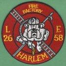 Harlem New York Engine 58 Ladder 26 Fire Company Patch