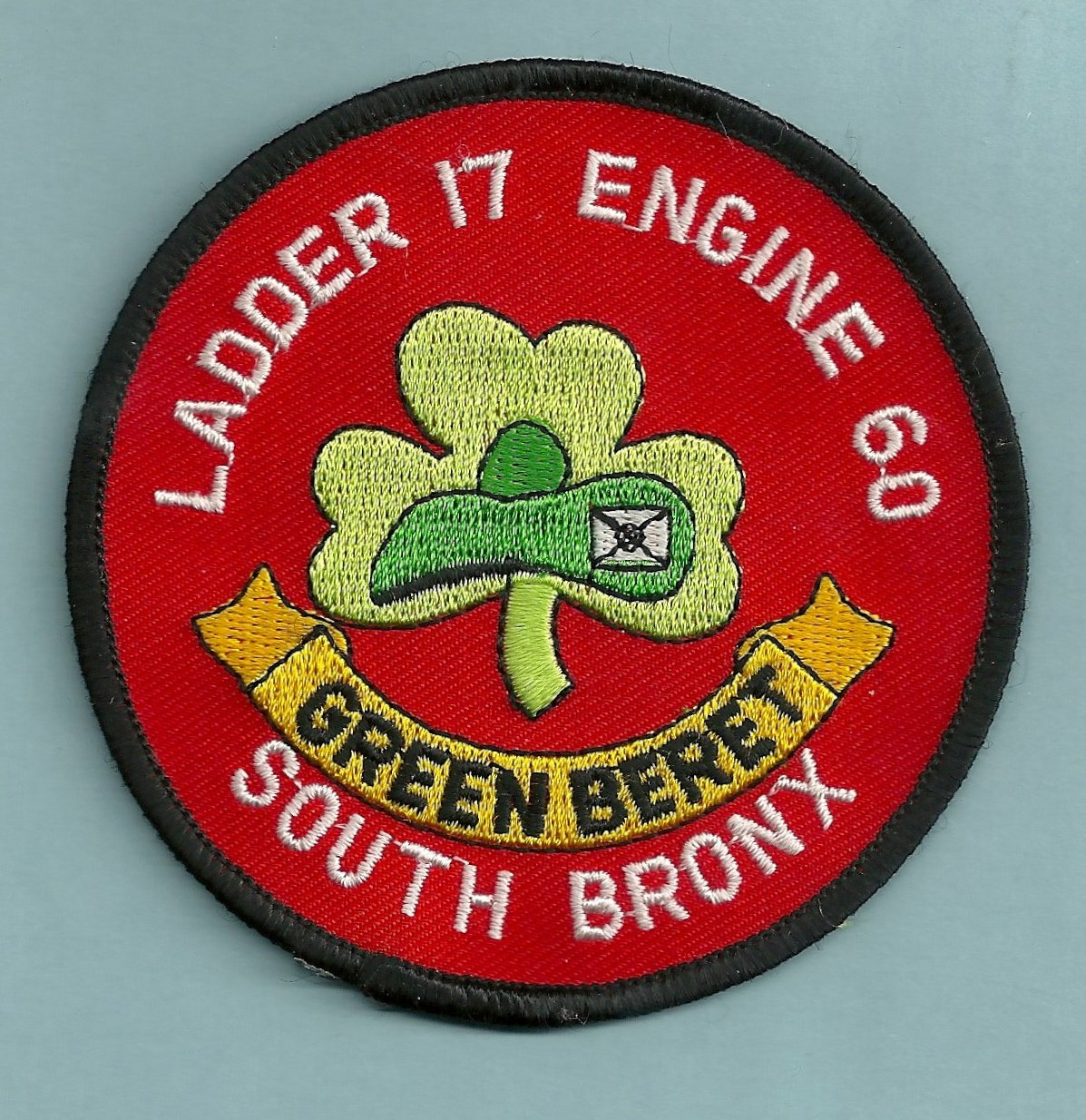 Bronx New York Engine 60 Ladder 17 Fire Company Patch