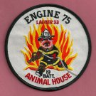 Bronx New York Engine 75 Ladder 33 Fire Company Patch