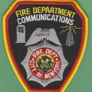 New York Fire Department Communications Division Patch