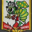 Bronx New York Engine Company 85 Fire Patch