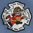 Queens New York Engine 299 Ladder 152 Fire Company Patch