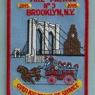 Brooklyn New York Fire Patrol 3 Patch