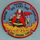 Brooklyn-Queens New York Fire Patrol 3 Patch