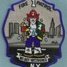 Manhattan New York Fire Patrol 1 Patch