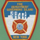 Governors Island Fire Department New York Patch