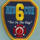 Manhattan New York Rescue Company 6 Fire Patch