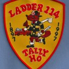 Brooklyn New York Ladder Company 114 Fire Patch