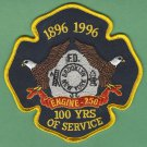 Brooklyn New York Engine Company 250 Fire Patch