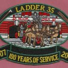 Manhattan New York Ladder Company 35 Fire Patch