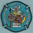 Brooklyn New York Battalion Chief 37 Fire Company Patch