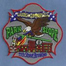 Brooklyn New York Ladder Company 122 Fire Patch