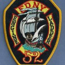 Bronx New York Engine 52 Ladder 52 Company Fire Patch