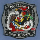 Manhattan New York Engine 7 Ladder 1 Company Fire Patch