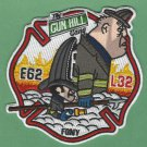 FDNY Bronx New York Engine 62 Ladder 32 Fire Company Patch