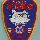 Bronx New York EMS Battalion 20 Fire Patch