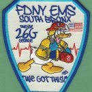Bronx New York EMS Battalion 26 - G Fire Patch