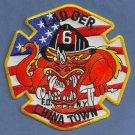 Manhattan New York Ladder Company 6 Fire Patch