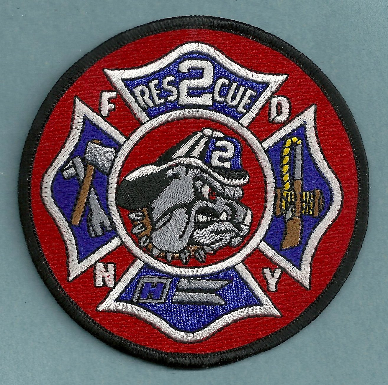 Brooklyn New York Rescue Company 2 Fire Patch