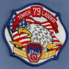 Staten Island New York Engine Ladder 79 Battalion 22 Company Fire Patch