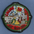 Bronx New York Engine Company 50 Fire Patch