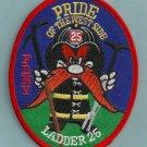 Manhattan New York Ladder Company 25 Fire Patch