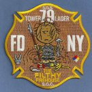 Staten Island New York Ladder Company 79 Fire Patch