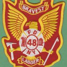 Bronx New York Ladder Company 48 Fire Patch
