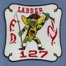 Queens New York Ladder Company 127 Fire Patch